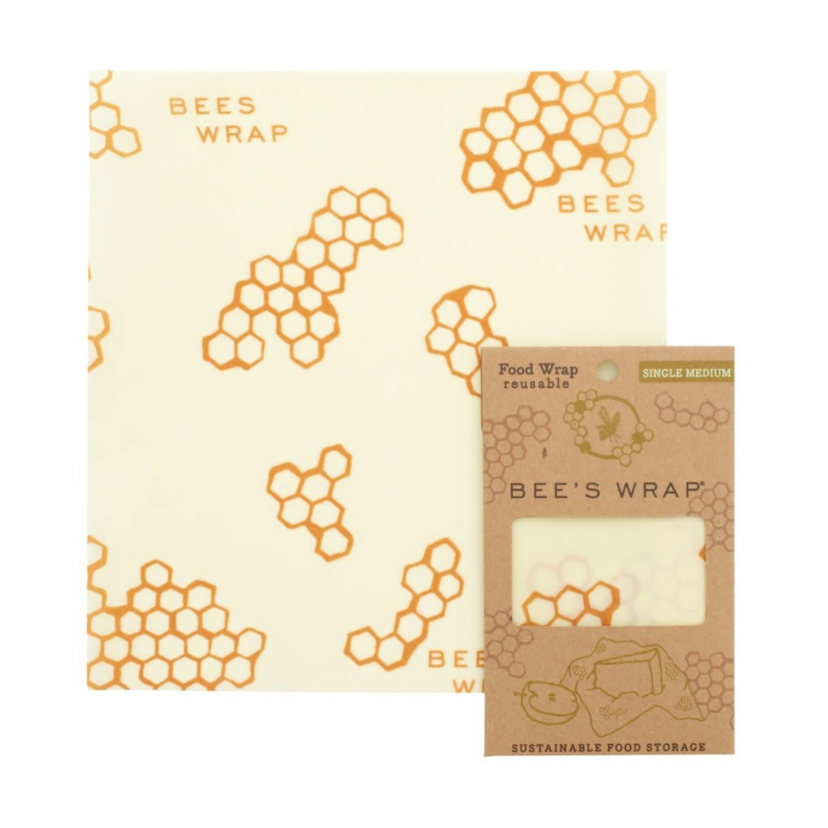 Bees Wrap Bees Wrap Single Pack in  Honeycomb