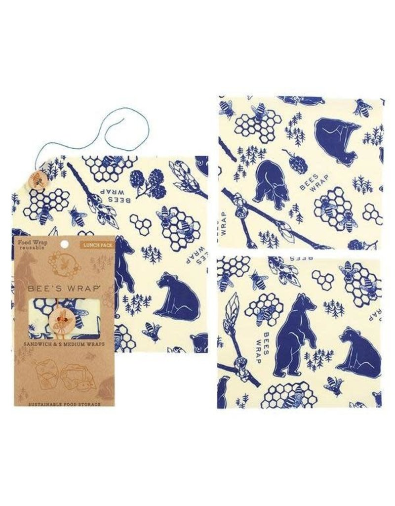 Bees Wrap Lunch Pack - Bees & Bears
