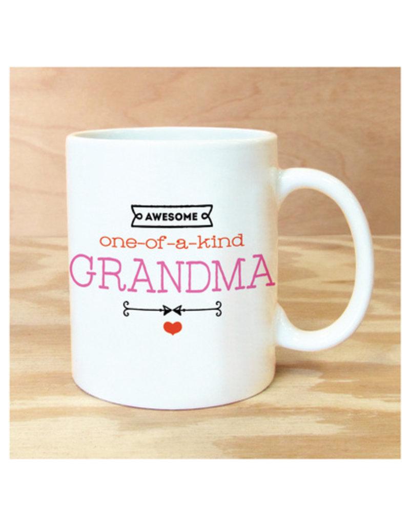 Rock Scissor Paper Awesome Grandma Mug