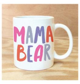 Rock Scissor Paper Mama Bear Mug