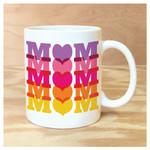Rock Scissor Paper Mom Mom Mom Mug