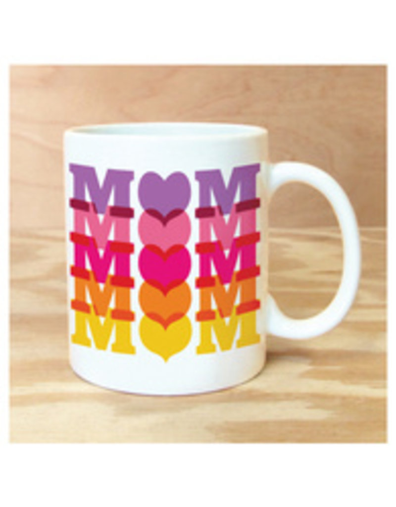 Mom Mom Mom Mug