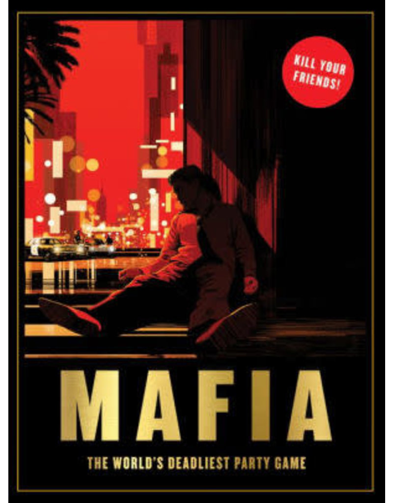 Chronicle Books Mafia Party Game