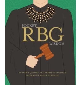 Chronicle Books Pocket RBG Wisdom