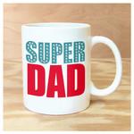 Rock Scissor Paper Super Dad Mug