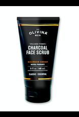 Olivina Men Volcanic Pumice Charcoal Face Scrub