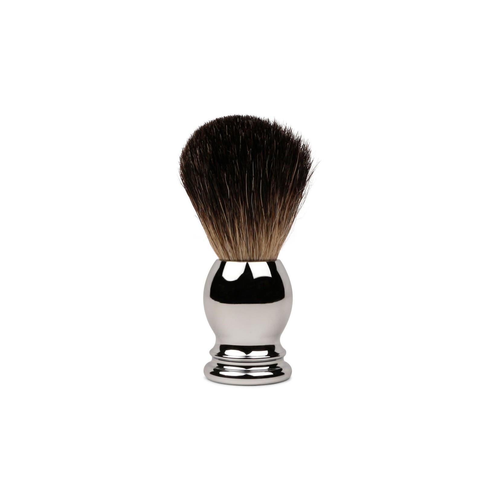 Olivina Men Shave Brush W/ Chrome Handle