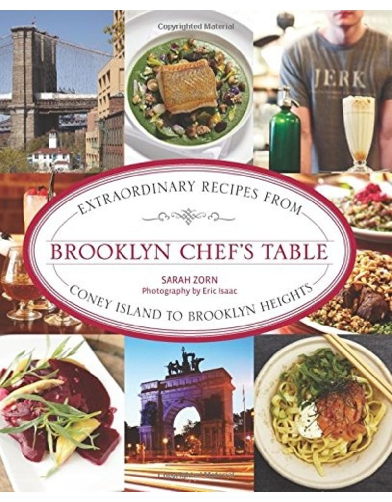 National Book Network Brooklyn Chef's Table