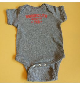 "Brooklyn ""718""  6-12 M Onesie"