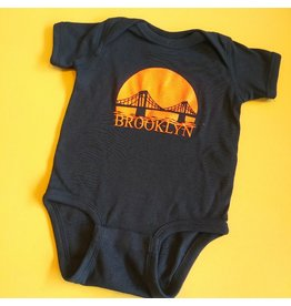 Brooklyn Bridge Sunset 6-12 M Onesie