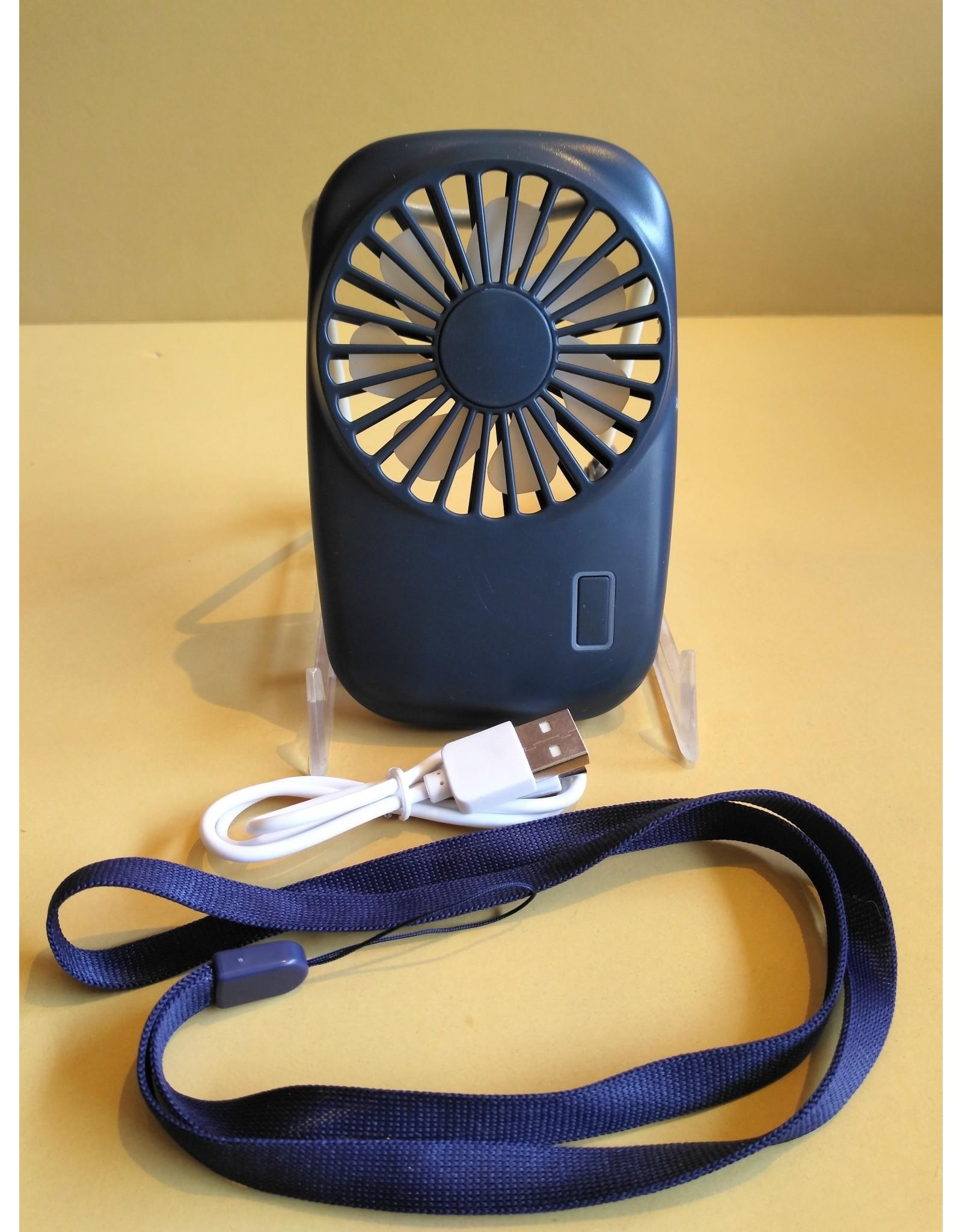 Kikkerland Pocket Tornado Mini Fan