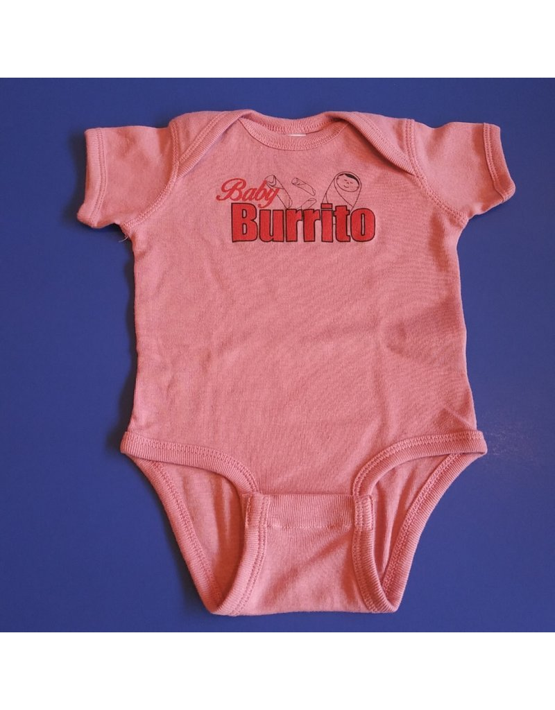 Exit9 Gift Emporium Baby Burrito Onesie