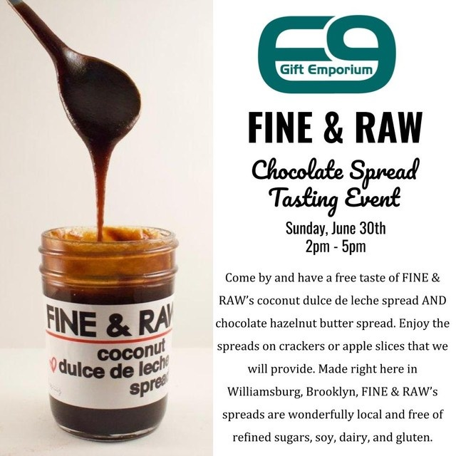 Fine and Raw Tasting Event June