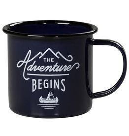 "Gentleman's Hardware ""Adventure Begins"" Mug"