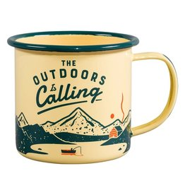 "Gentleman's Hardware ""Outdoors is Calling"" Mug"