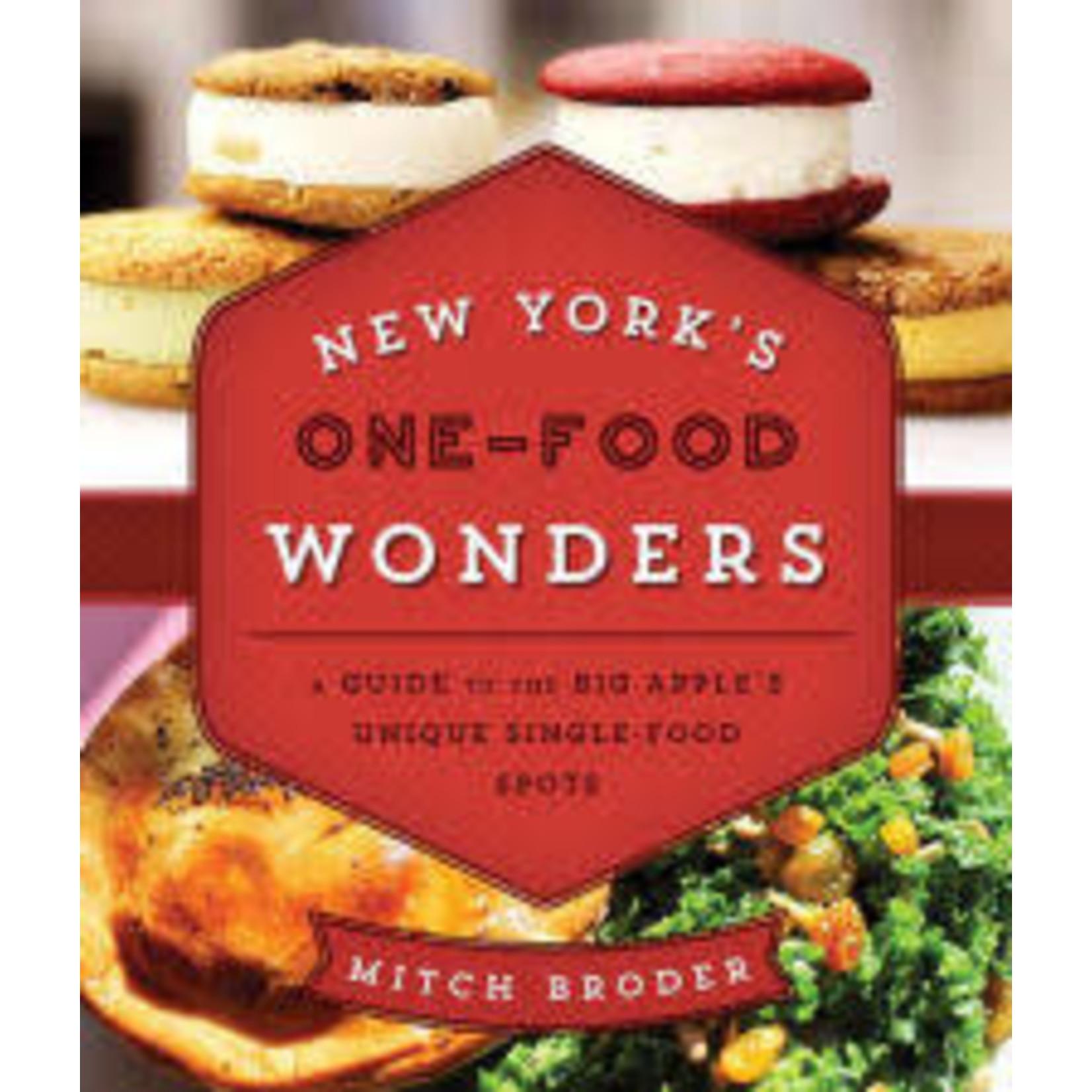 National Book Network New York's One-Food Wonders