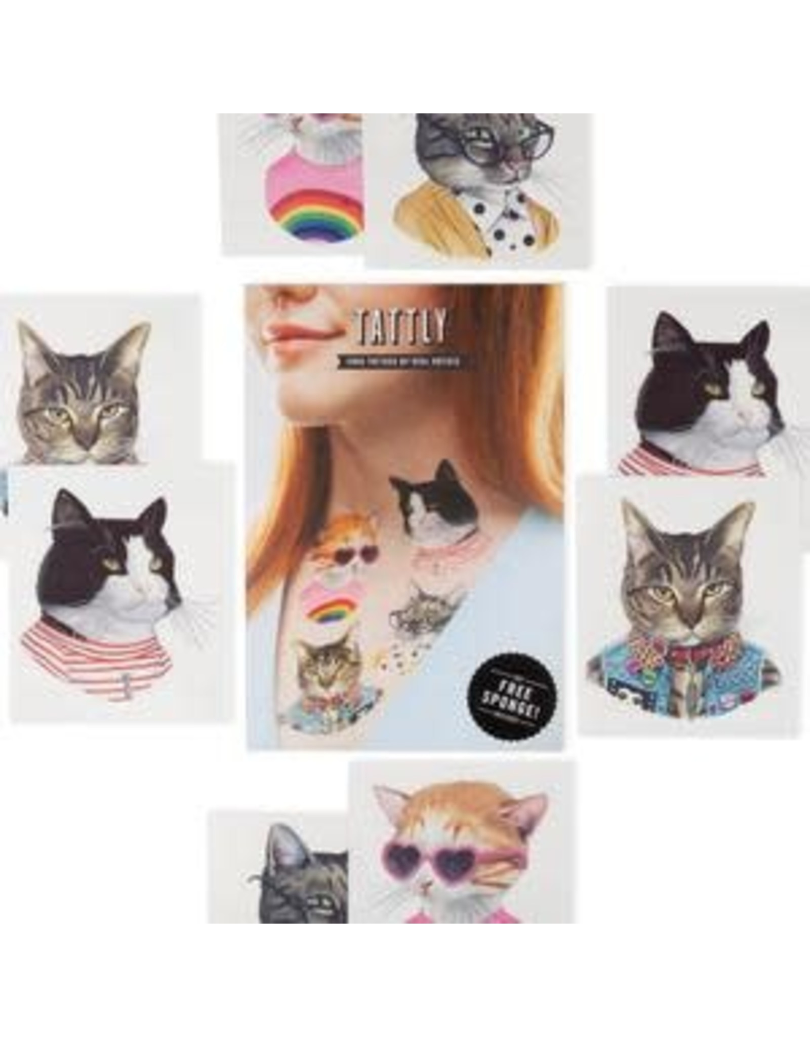 Tattly Cat Club Tattly Pack