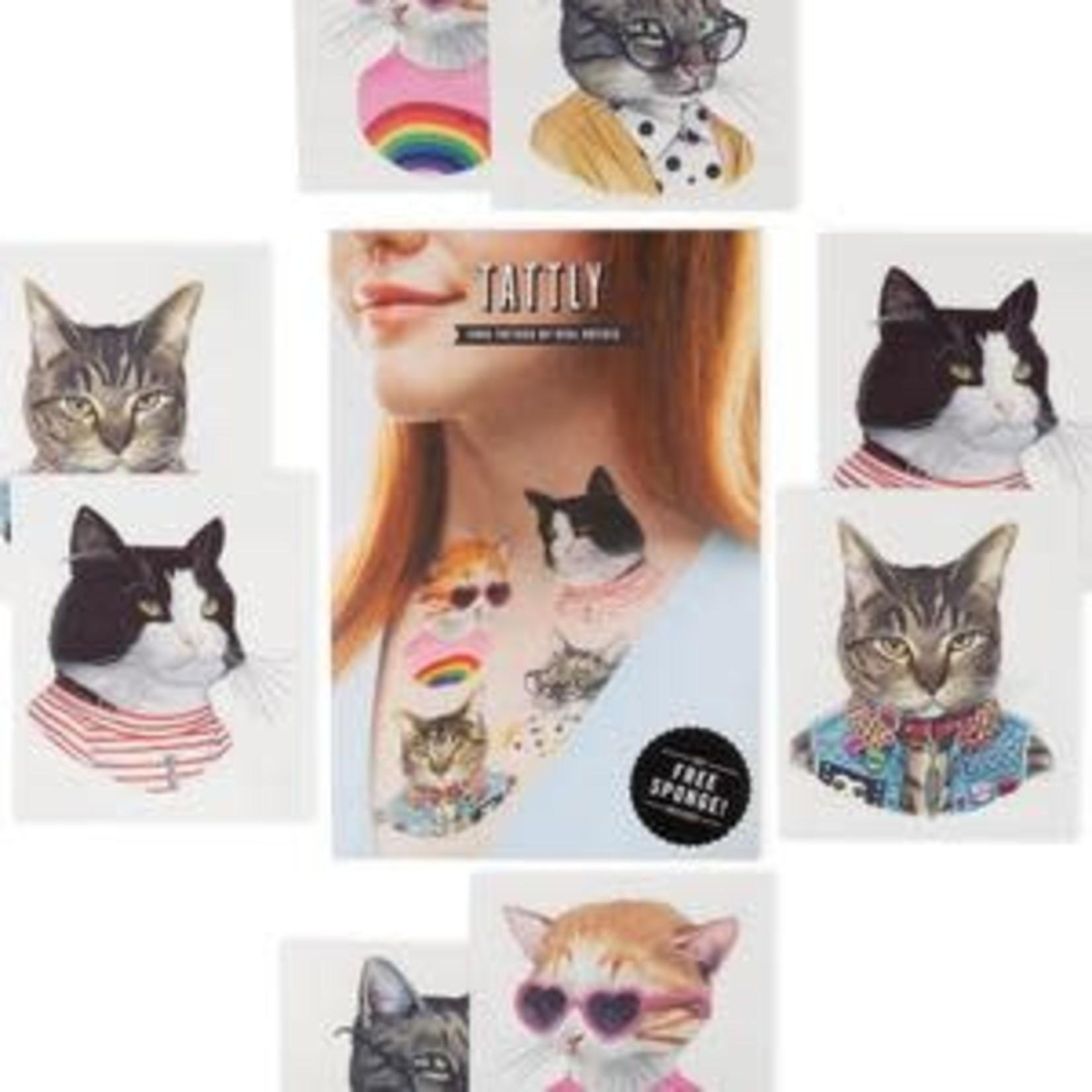 Tattly Cat Club Tattly Pack