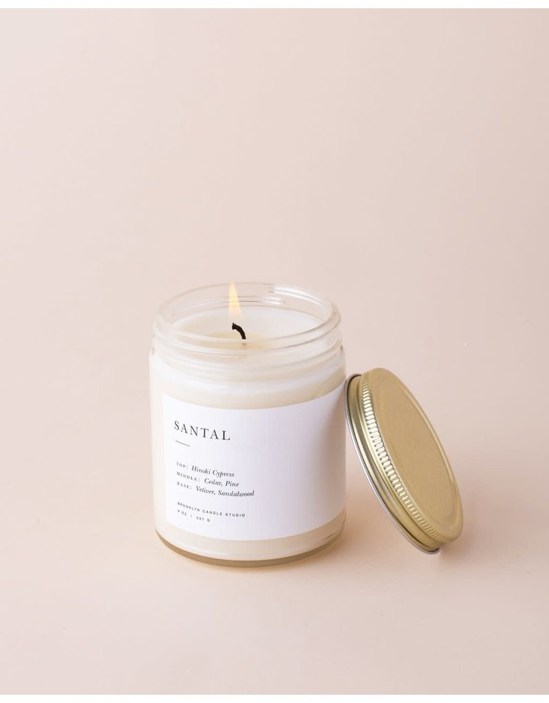 Brooklyn Candle Studio Santal Minimalist Candle