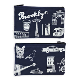 Claudia Pearson Brooklyn Icons Pouch