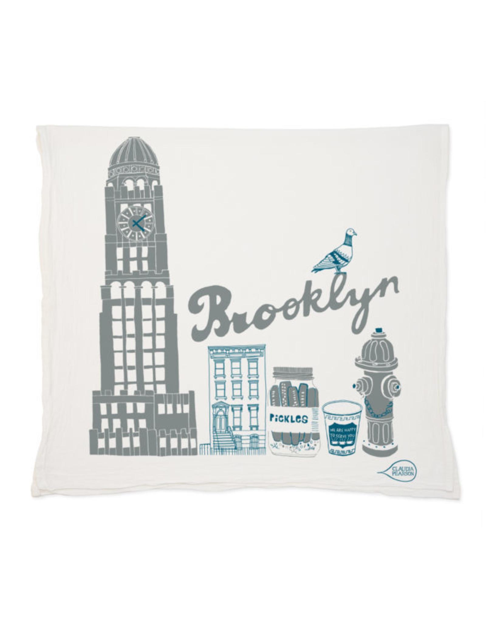 Claudia Pearson Brooklyn Tea Towel
