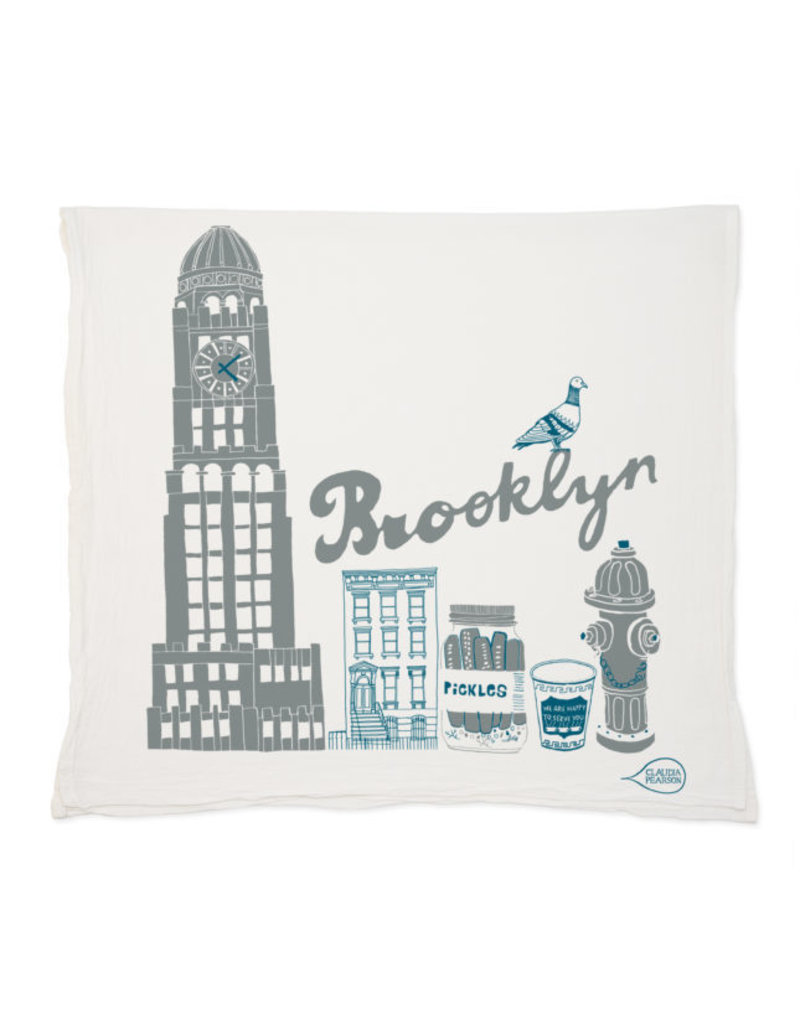 Claudia Pearson Brooklyn Tea Towel