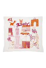 Claudia Pearson Brooklyn Dog Tea Towel