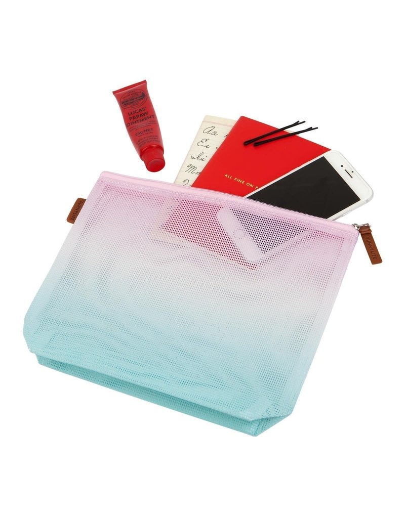 Sunnylife Malibu Mesh Cosmetic Bag