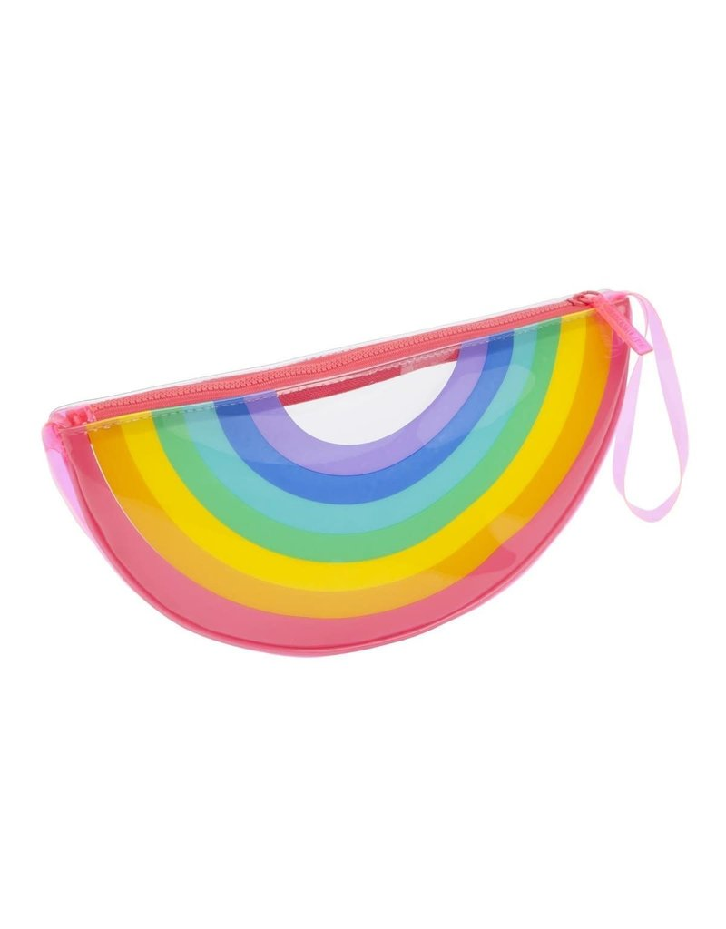 Sunnylife Rainbow See Through Clutch