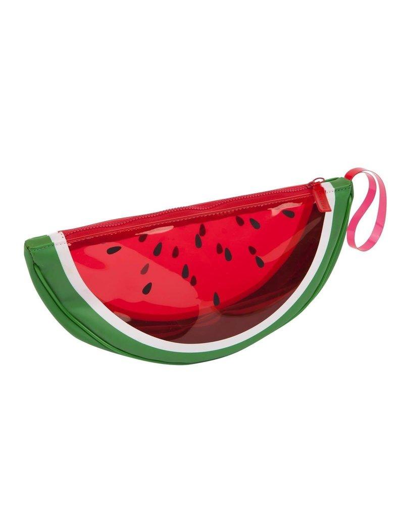 Sunnylife Watermelon See Thru Clutch
