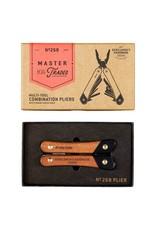 Gentleman's Hardware Acacia Wood & Titanium Plier Multi Tool
