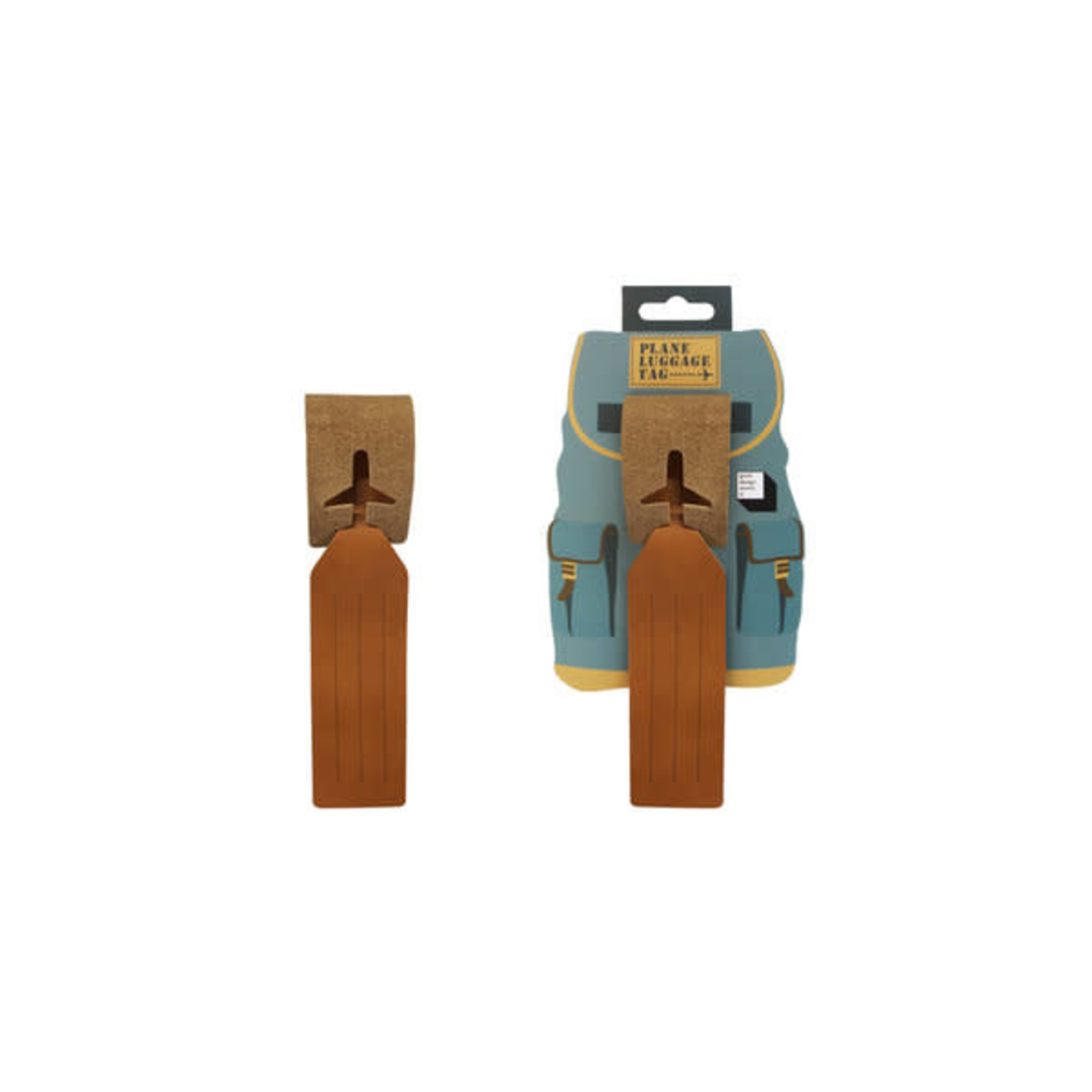 Good Design Works Leather Luggage Tag
