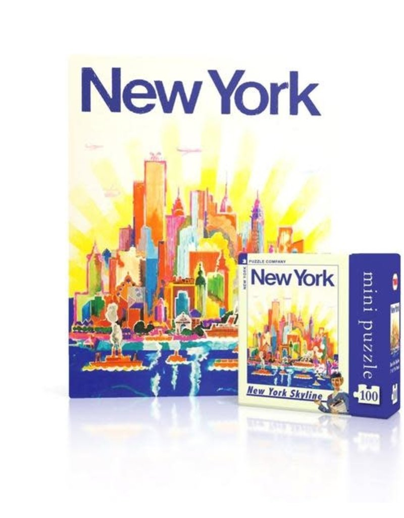 New York Puzzle Company NYC Skyline Mini Puzzle