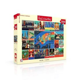 New York Puzzle Company New York Collage Puzzle