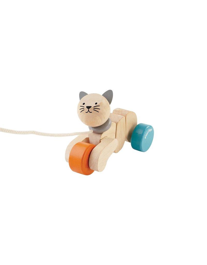 Plan Toys Pull Along Cat