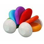 Plan Toys Wooden Rainbow Baby Car