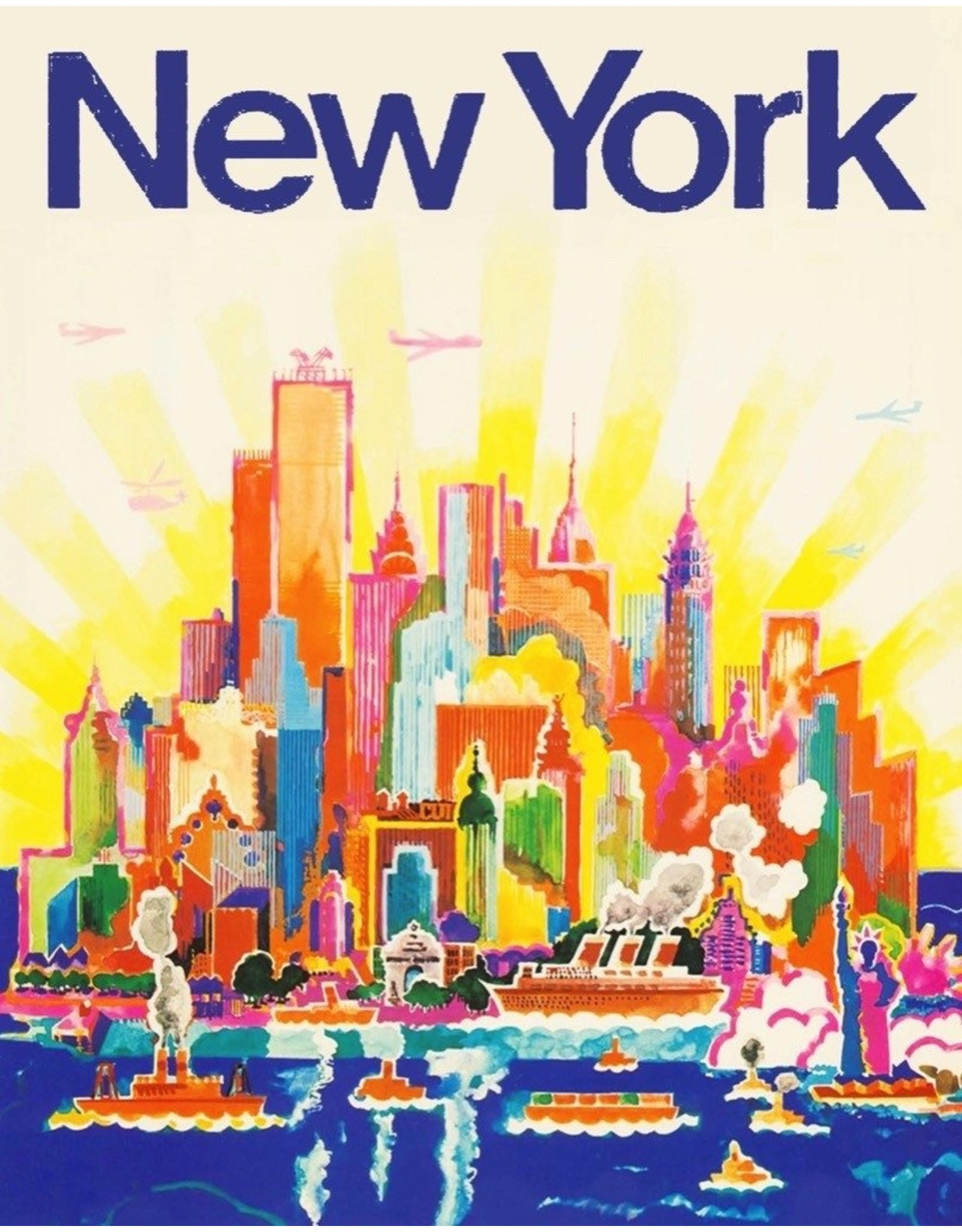 New York Puzzle Company NYC Skyline Mini Puzzle
