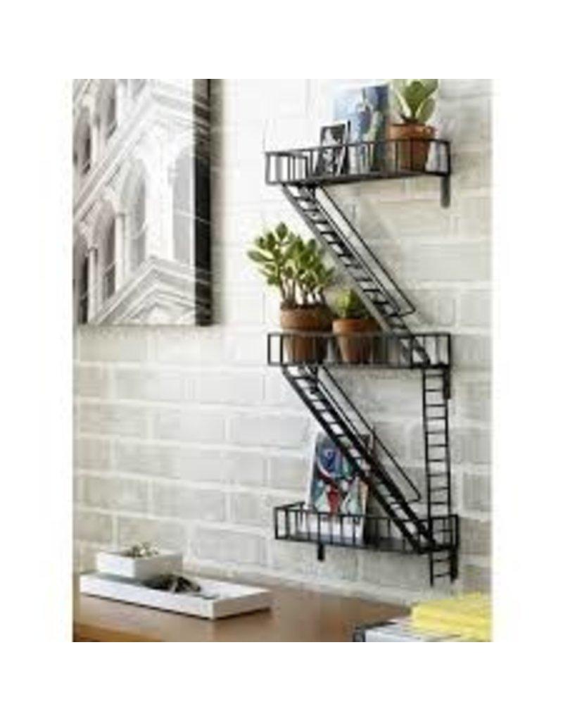 Design Ideas Fire Escape Shelf