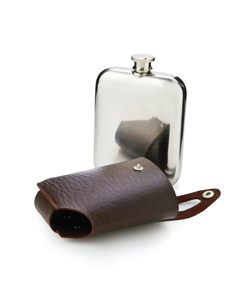 Viski Admiral Flask & Traveling Case