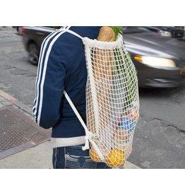Kikkerland Cotton Net Backpack