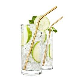Viski Belmont Gold Cocktail Straws