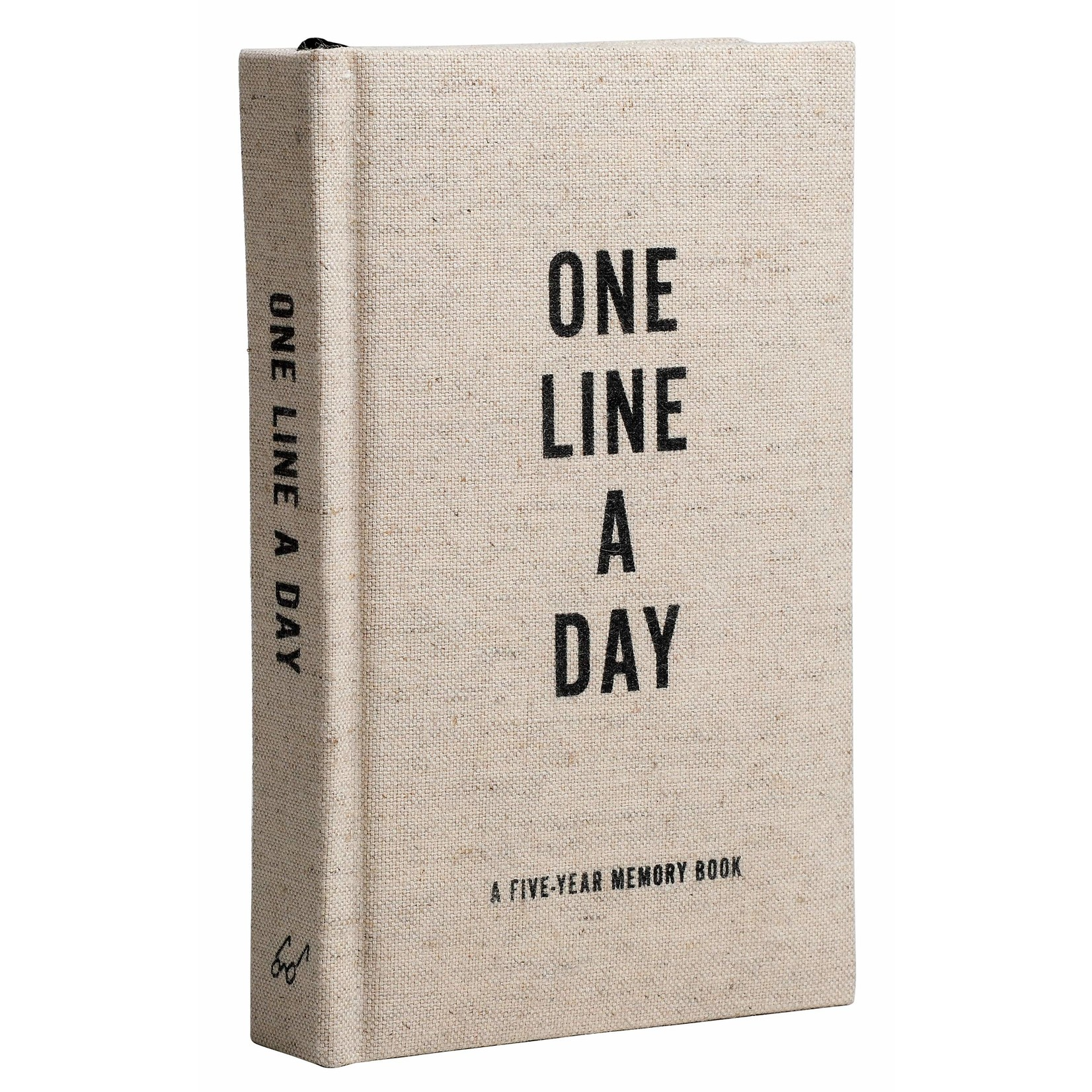 Chronicle Books One Line A Day Canvas Journal