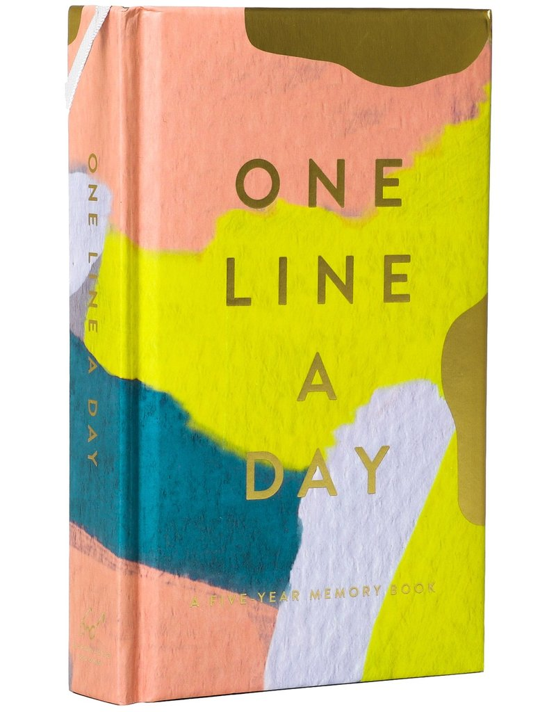 Chronicle Books Modern One Line A Day Journal