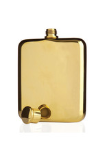 Viski Gold Plated Flask