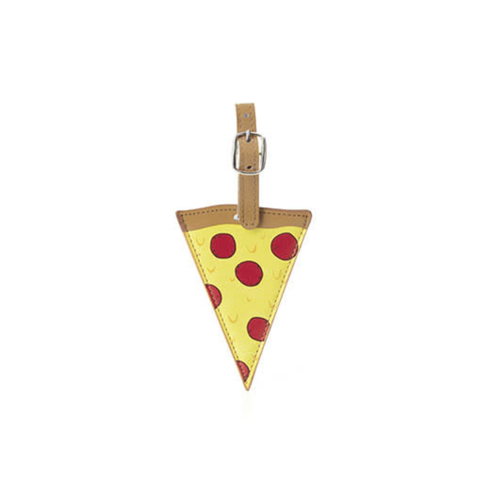 Kikkerland Pizza Luggage Tag