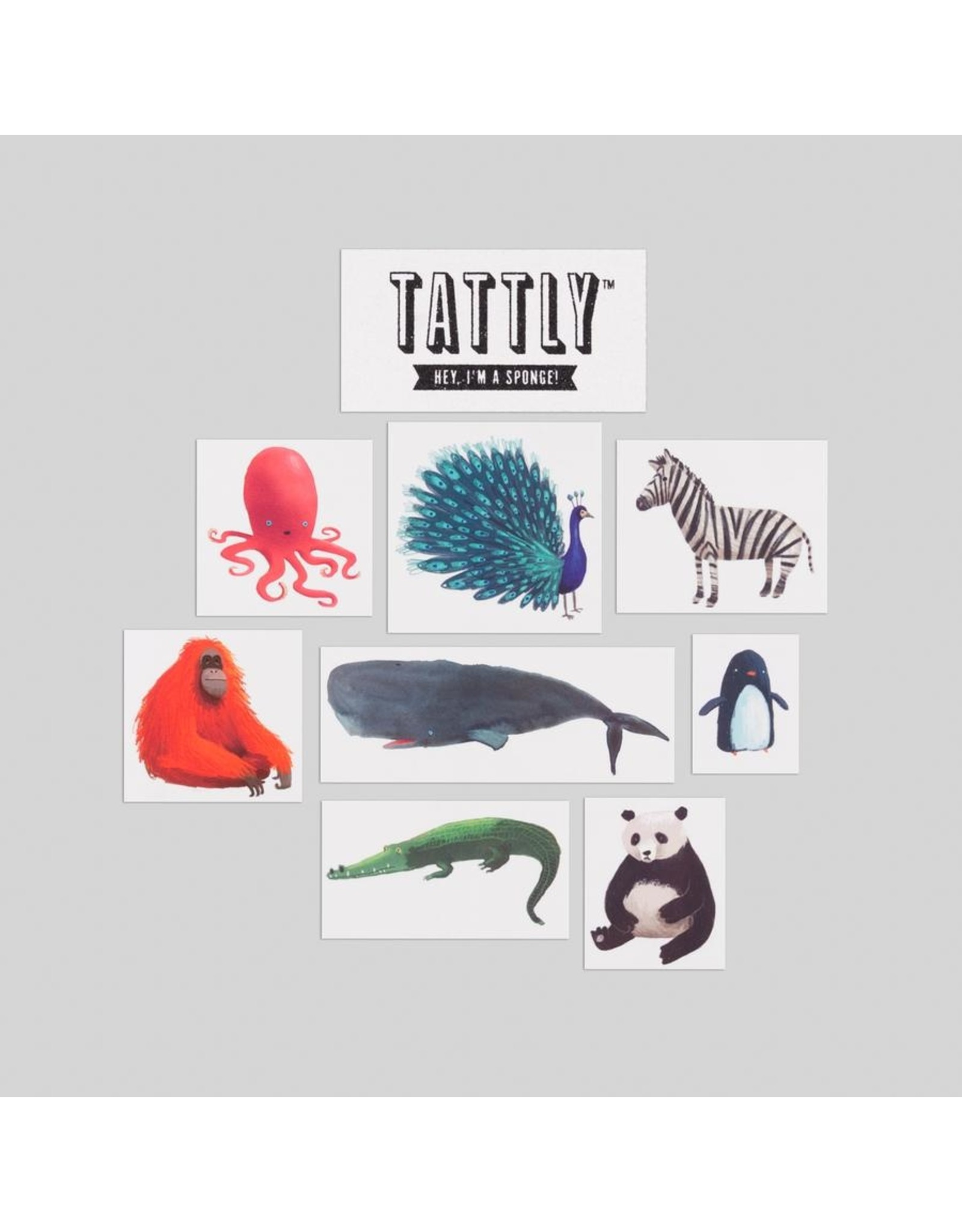 Tattly Wildlife Tattly Pack