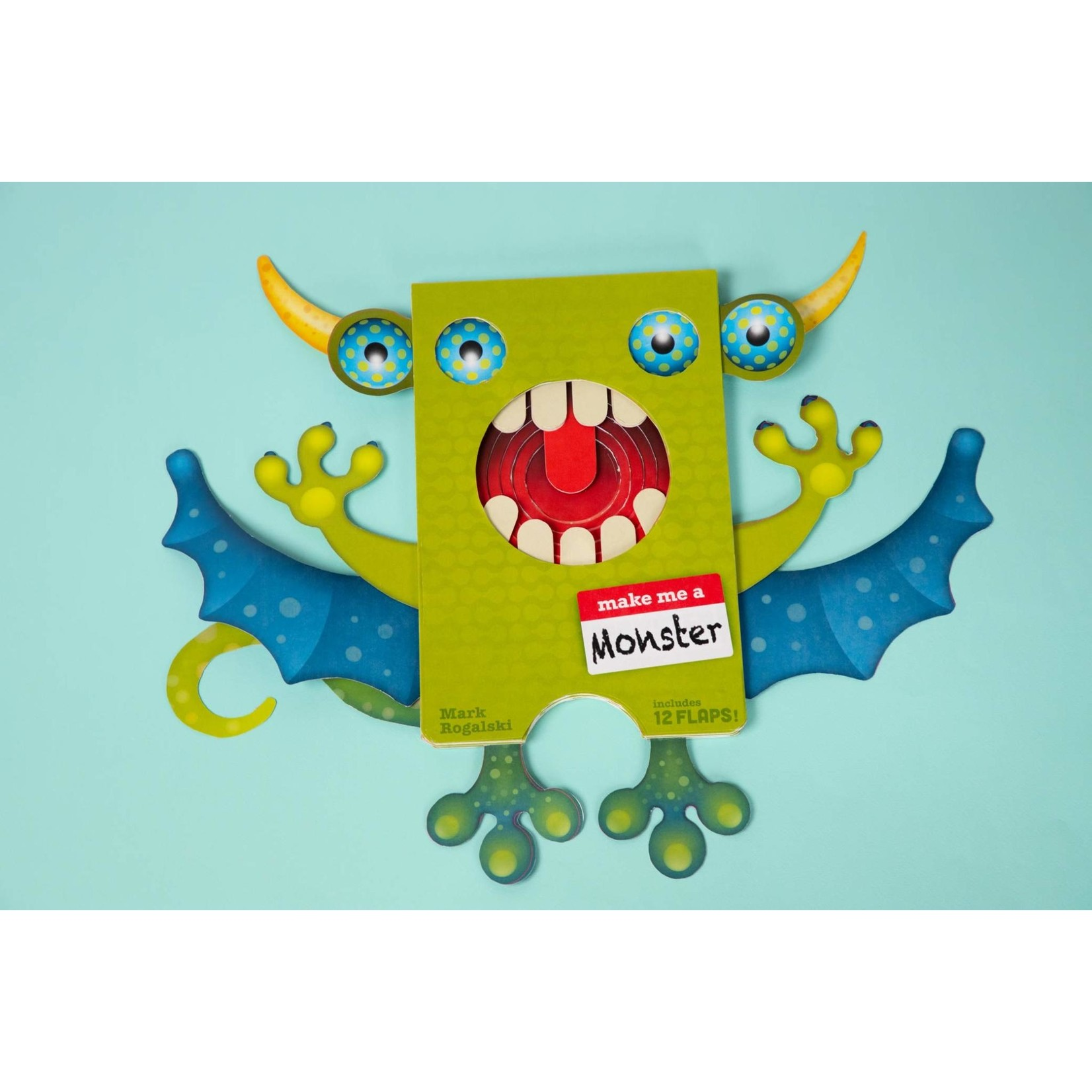 Chronicle Books Make Me a Monster Book