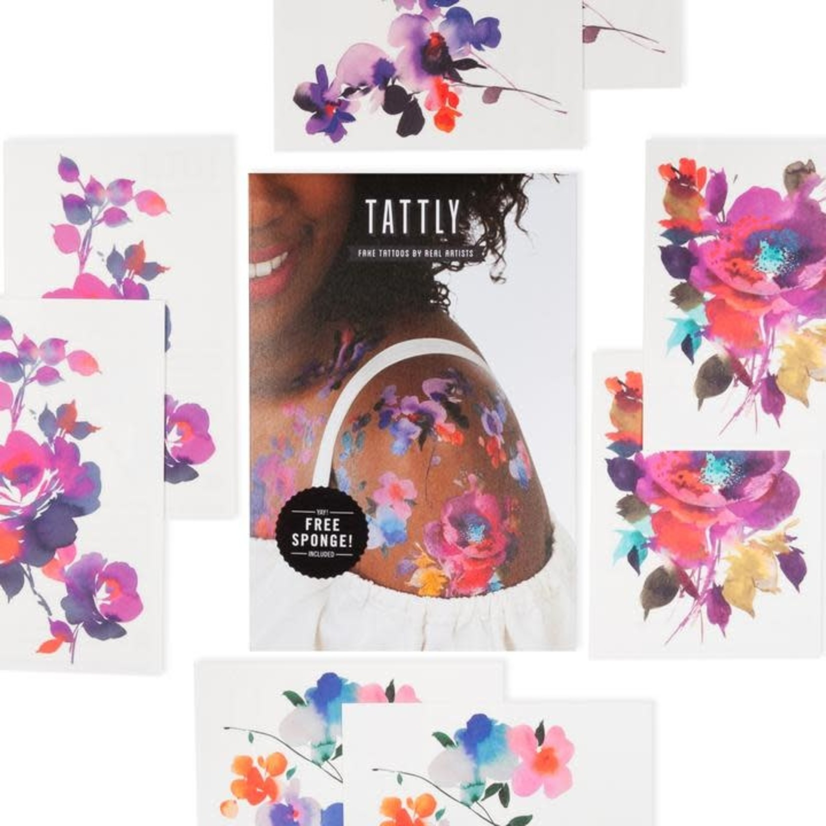 Tattly In Bloom Tattly Pack