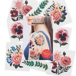 Tattly Embroidery Floral Tattly Pack
