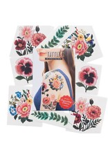 Tattly Embroidery Florals Tattly Pack